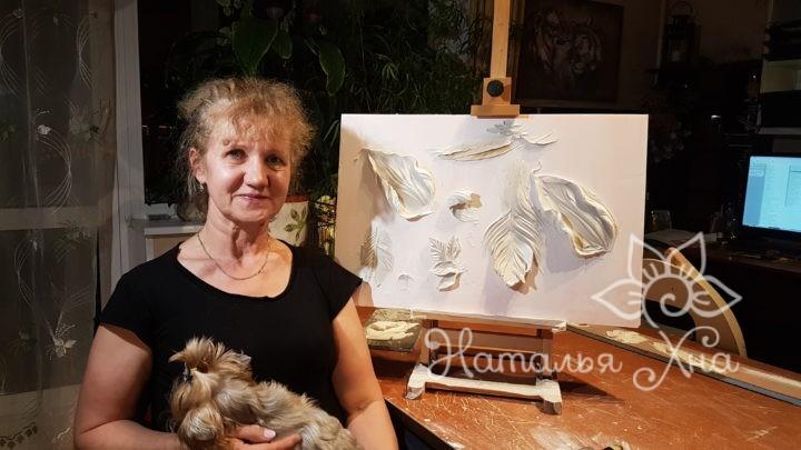 Ученица Ольга Ошивалова