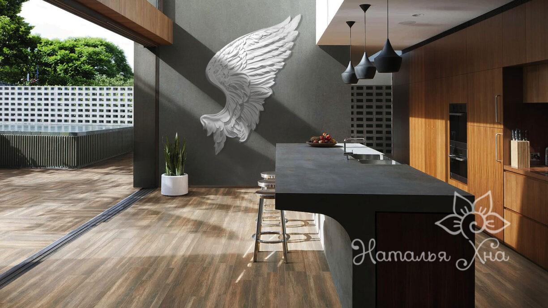 Украшение на стену крыло ангела