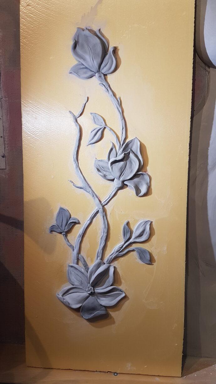 20200224 171955 689x1224 - Мастер-класс цветочный барельеф для Виктории Сазоновой